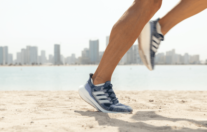 Recycled materials: Adidas Ultraboost 21 Primeblue are made using Parley ocean plastic