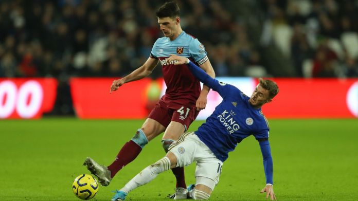 West Ham 1 - 2 Leicester