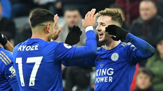Newcastle United 0 - 3 Leicester City