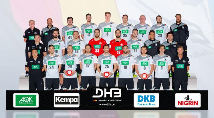 Handball WM - DHB - Deutschland - Nationalmannschaft - Männer - bad boys - Handball EM 2018 - Fotomontage: Sascha Klahn/DHB