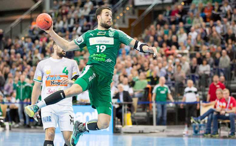 Bastian Roschek – SC DHfK Leipzig – Handball Bundesliga – Foto: Karsten Mann