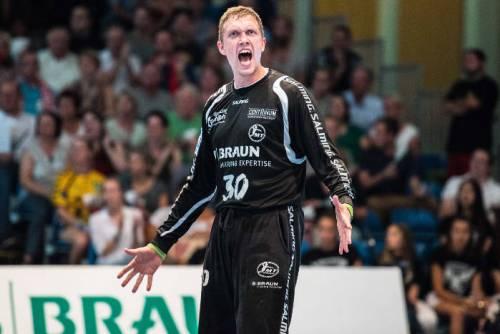 Rene Villadsen - SC DHfK Leipzig - MT Melsungen - Handball Bundesliga - Foto: A. Käsler
