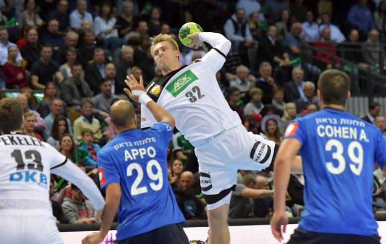 Franz Semper - Handball Länderspiel Deutschland vs. Israel in Wetzlar am 24.10.2018 - Foto: Rainer Justen