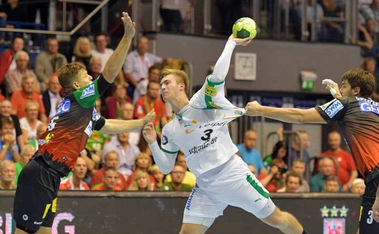 Handball - 1. Bundesliga - Franz Semper - SC DHfK Leipzig - Foto: Rainer Justen