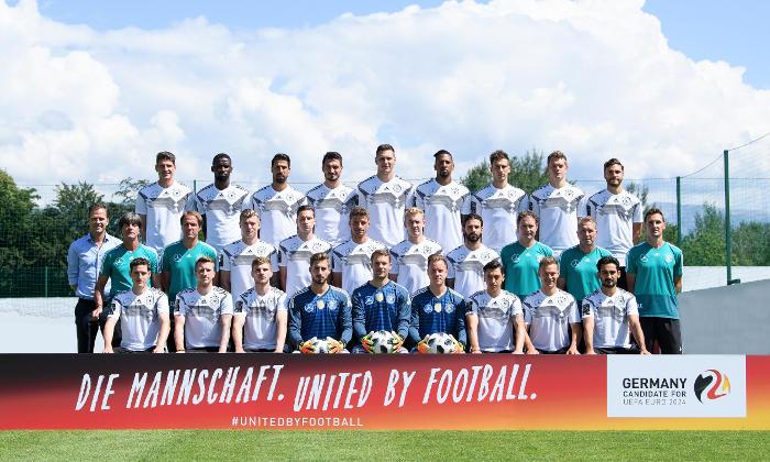 """Fußball – DFB – Deutschland – DFB Mannschaft ist """"United by football"""" – UEFA EURO 2024 – Foto: DFB"""
