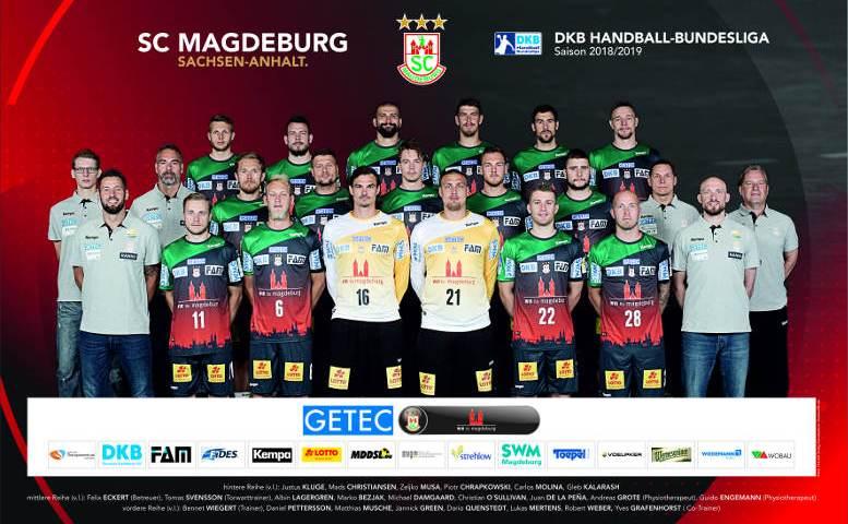 SC Magdeburg – Handball Bundesliga – Saison 2018-2019 – Foto: SC Magdeburg