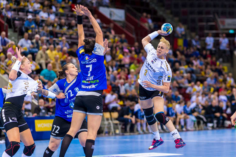 SG BBM Bietigheim vs. CSM Bukarest - Maura Visser - Handball EHF Champions League - Foto: SG BBM Bietigheim