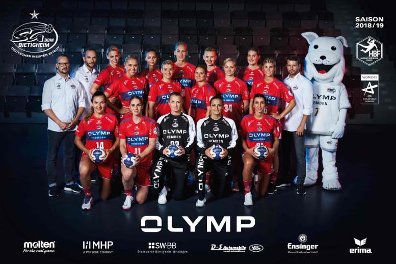 SG BBM Bietigheim – Saison 2018-2019 – Handball Bundesliga – EHF Champions League - DHB-Pokal – Foto: SG BBM Bietigheim