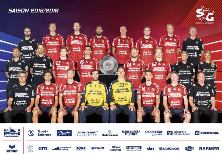 SG Flensburg-Handewitt – Saison 2018-2019 – Handball Bundesliga – EHF Champions League – Foto: SG Flensburg-Handewitt