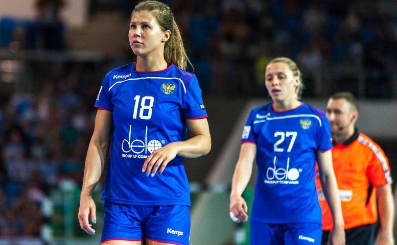 Handball EM 2018 - Daria Samokhina - Russland - Foto: Handball Federation of Russia