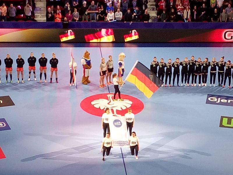 Handball EM 2018 - Deutschland vs. Niederlande - Nancy am 12.12.2018 - Foto: SPORT4FINAL