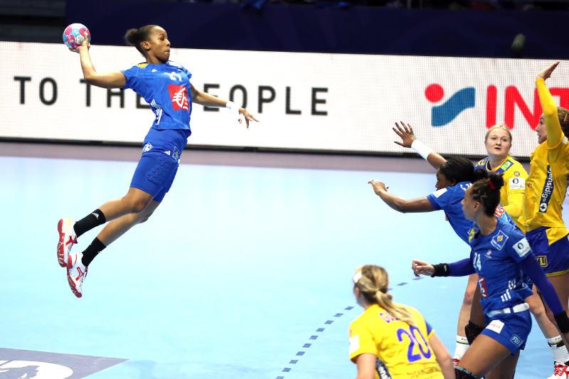Handball EM 2018 - Orlane Kanor - Frankreich vs. Schweden - Copyright: FFHandball / S. Pillaud