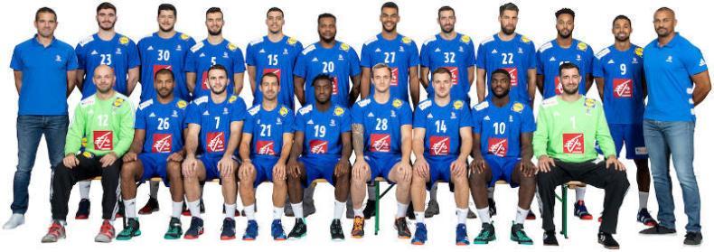 Handball WM 2019 - Team Frankreich - Copyright: FFHandball