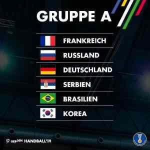 Handball WM 2019 Gruppe A - Foto: IHF Handball Weltmeisterschaft
