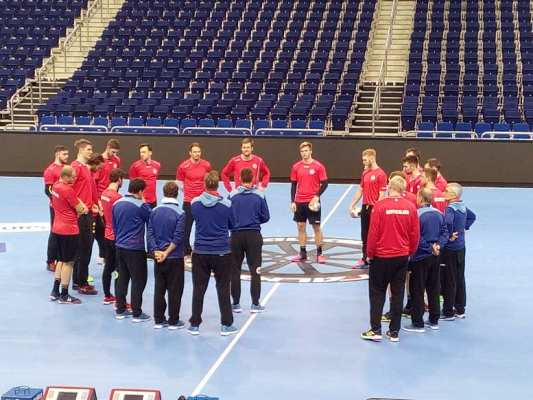 Handball WM 2019 - Deutschland im Training in Berlin - Foto: SPORT4FINAL