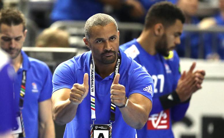 Handball WM 2019 - Didier Dinart - Frankreich vs. Island - Copyright: FFHandball / S. Pillaud