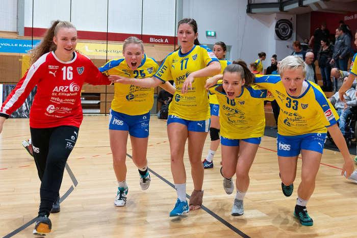 HC Leipzig bei HSG Weiterstadt - Foto: HC Leipzig