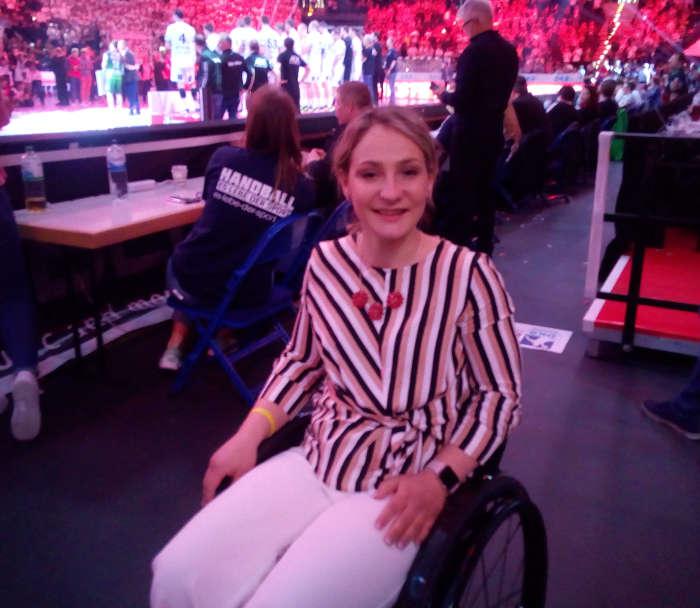 Kristina Vogel - DHB Pokal REWE Final Four 2019 am 7. April in der Barclaycard Arena Hamburg - Foto: SPORT4FINAL