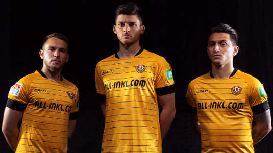 Dynamo Dresden Heimtrikot 2019-2020 Craft