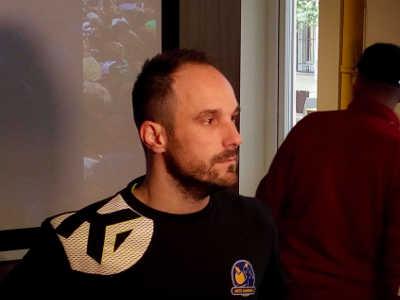 Handball EHF Champions League Final4 Budapest 2019: Emmanuel Mayonnade (Metz Handball) im SPORT4FINAL-Interview. Foto: SPORT4FINAL