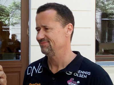 Handball EHF Champions League Final4 Budapest 2019: Ole Gustav Gjekstad (Vipers Kristiansand) im SPORT4FINAL-Interview. Foto: SPORT4FINAL