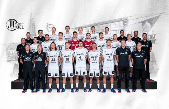 THW Kiel - Handball Bundesliga - EHF Champions League – EHF-Cup - Saison 2018/2019