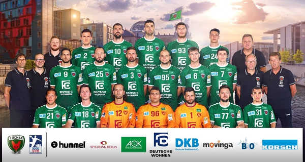 Füchse Berlin - Handball Saison 2019-2020 - DHB Pokal - Foto: Füchse Berlin