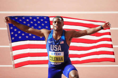 Leichtathletik WM 2019 - Christian Coleman - Foto: © Getty Images for IAAF