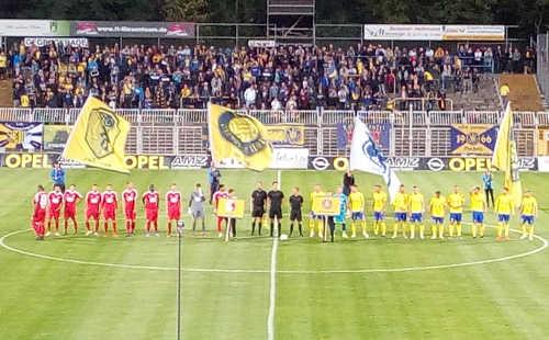 1. FC Lok Leipzig vs. Berliner AK - Bruno-Plache-Stadion am 13.09.2019 - Foto: SPORT4FINAL