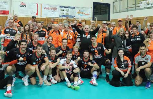 BR Volleys vs. Netzhoppers KW-Bestensee - Foto: BR Volleys