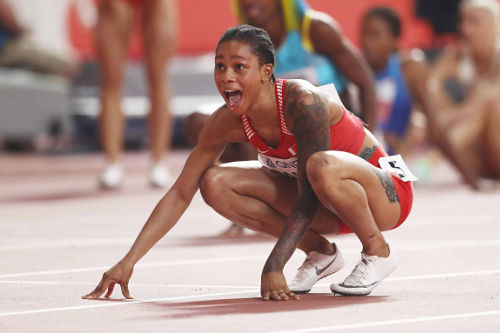 Leichtathletik WM 2019 - Salwa Eid Naser - Foto: © Getty Images for IAAF