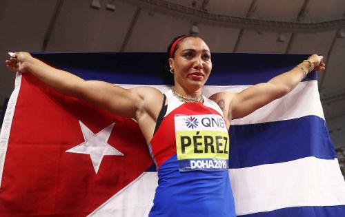 Leichtathletik WM 2019 - Yaime Perez - Foto: © Getty Images for IAAF