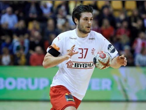 Martin Larsen - Dänemark - Foto: Dansk Handbold Forbund