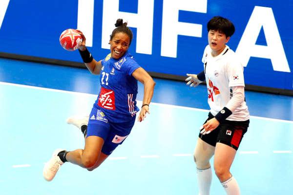 Handball WM 2019 - Frankreich vs. Südkorea - Foto: FFHandball / S. Pillaud