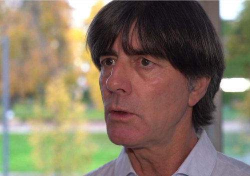 Joachim Löw im DFB Video Interview - Quelle: DFB