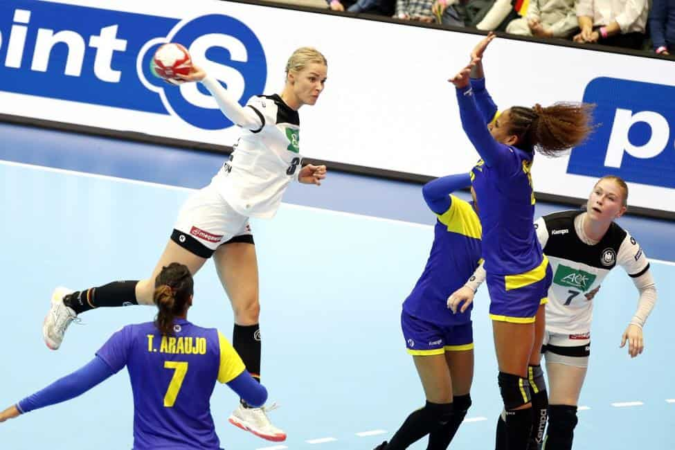 Handball WM 2019 Japan - Shenia Minevskaja - Deutschland vs. Brasilien - Foto: IHF