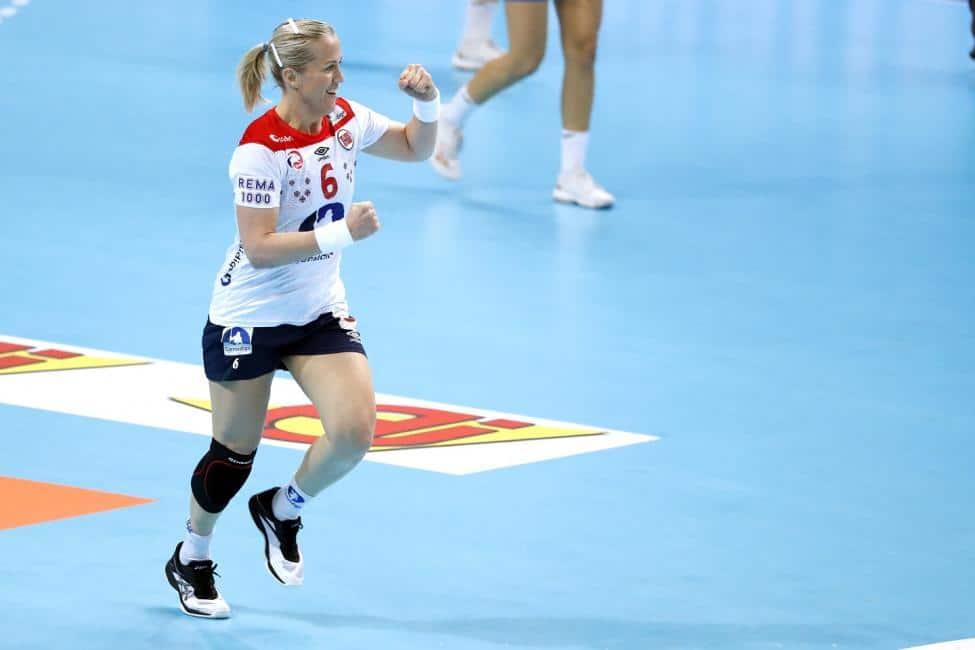 Handball WM 2019 - Heidi Löke - Norwegen vs. Slowenien - Copyright: IHF