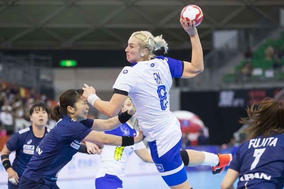 Handball WM 2019 - Russland vs. Japan - Anna Sen - Copyright: IHF