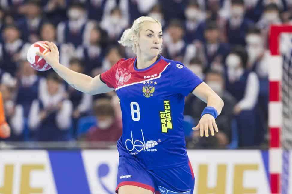 Handball WM 2019 - Russland vs. Montenegro - Anna Sen - Copyright: IHF