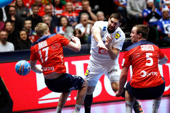 Handball EM 2020 - Frankreich vs. Norwegen - Foto: FFHandball / S. Pillaud