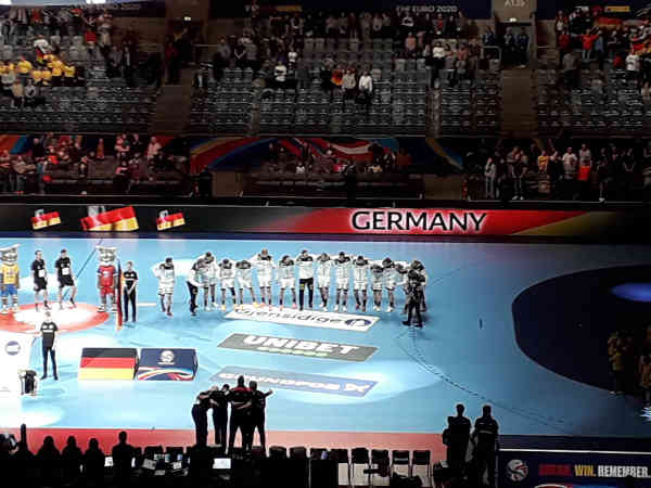 Handball EM 2020 - Team Germany vs. Portugal - Copyright: SPORT4FINAL