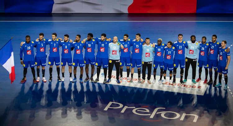 Handball EM 2020 Test - Team Frankreich - Serbien vs. Frankreich - Handball Golden League 2020 - Foto: FFHandball / S. Pillaud