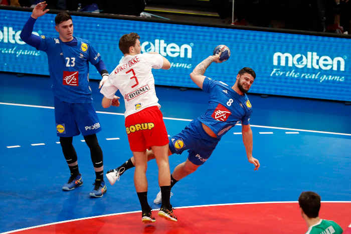 Handball EM 2020 Test - Nedim Remili (8) - Frankreich vs. Dänemark - Handball Golden League 2020 - Foto: FFHandball / S. Pillaud