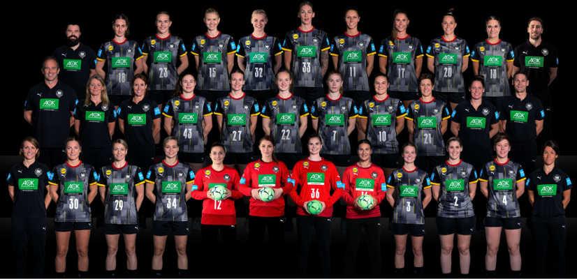 Handball EM 2020 Frauen EHF EURO - DHB Deutschland - Foto: Sascha Klahn/DHB