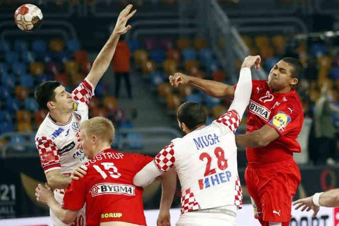 Handball WM 2021 Ägypten – Dänemark vs. Kroatien – Copyright: © IHF / Egypt 2021