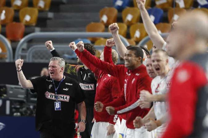 Handball WM 2021 Ägypten - Dänemark vs. Spanien - Copyright: © IHF / Egypt 2021