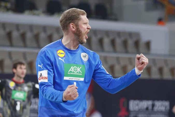 Handball WM 2021 Ägypten – Deutschland vs. Brasilien – Johannes Bitter – Copyright: © IHF / Egypt 2021