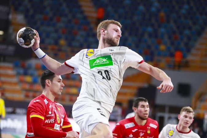 Handball WM 2021 Ägypten – Deutschland vs. Spanien – Philipp Weber - Copyright: © IHF / Egypt 2021