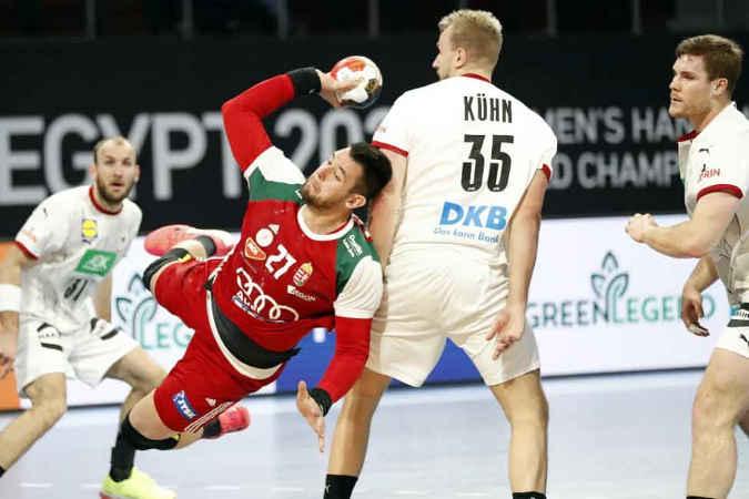 Handball WM 2021 Ägypten – Deutschland vs. Ungarn – Copyright: © IHF / Egypt 2021