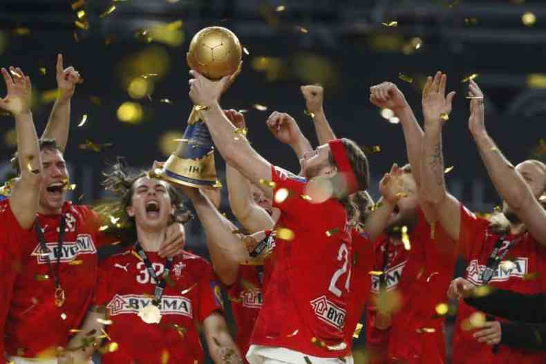 Handball WM 2021 Ägypten Finale - Dänemark Weltmeister - Copyright: © IHF / Egypt 2021